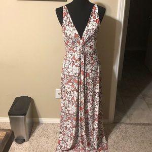 Soma Floral Maxi Dress